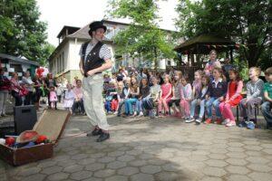 Clownshow im Kindergarten